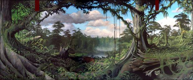 Rainforest Scene